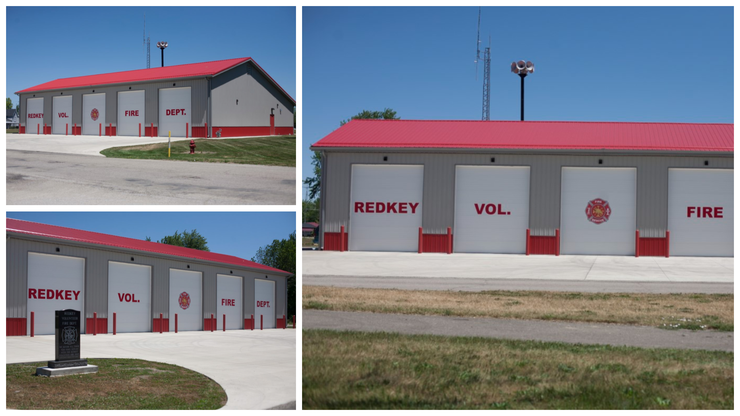 Redkey Fire Department, Redkey IN (Click for gallery)