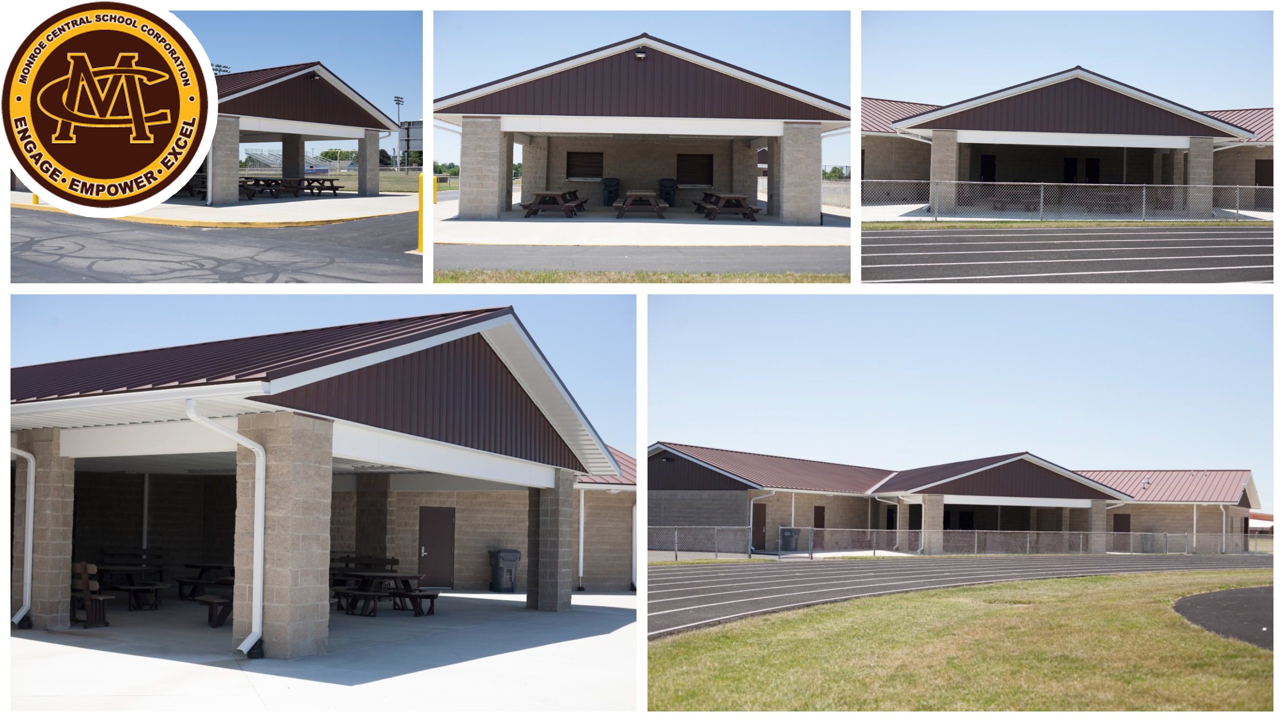 Monroe Central Concessions and Facility, Parker City, IN